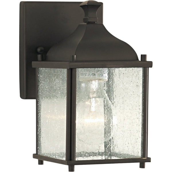 Terrace Oil Rubbed Bronze Outdoor Wall Lantern - Outdoor Wall Sconce