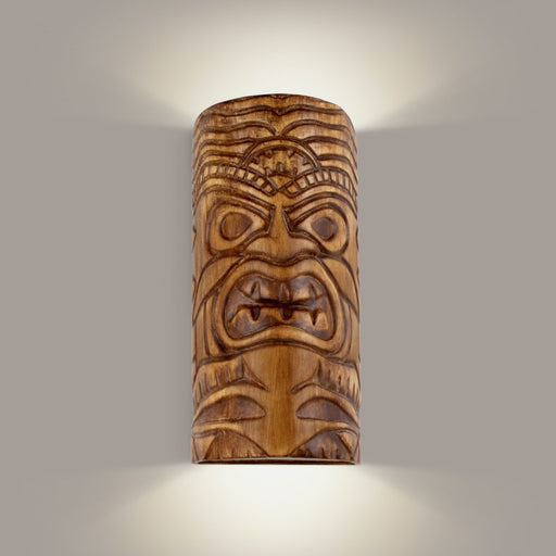 Tiki Amber Palm Wall Sconce - Wall Sconce