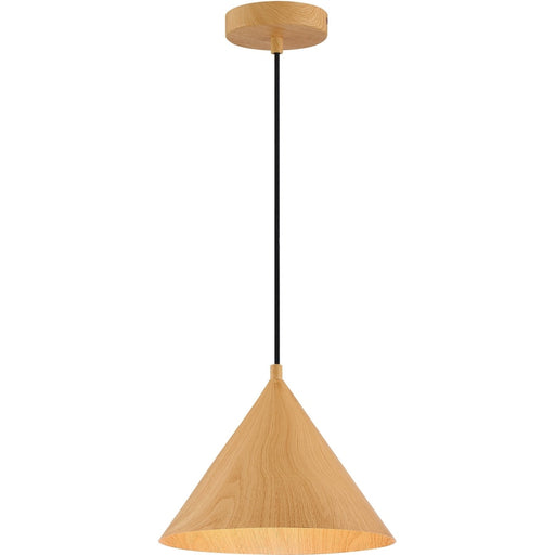 Timber Wood Grain LED Pendant - Pendants