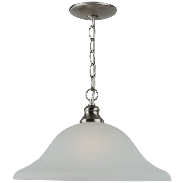 Windgate Brushed Nickel Pendant - Pendants