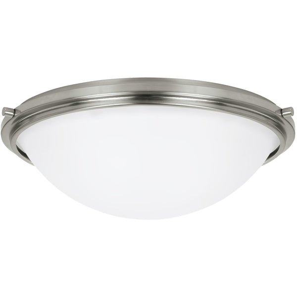 Winnetka Brushed Nickel LED Flush Mount - Flushmounts