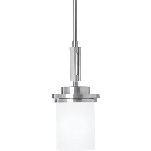 Winnetka Brushed Nickel Mini-Pendant - Mini-Pendants