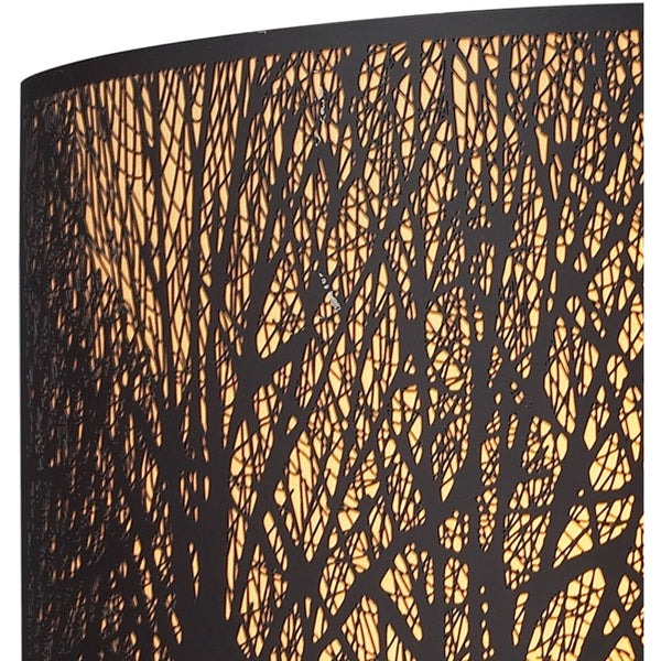 Woodland Sunrise Aged Bronze Wall Sconce - Wall Sconce