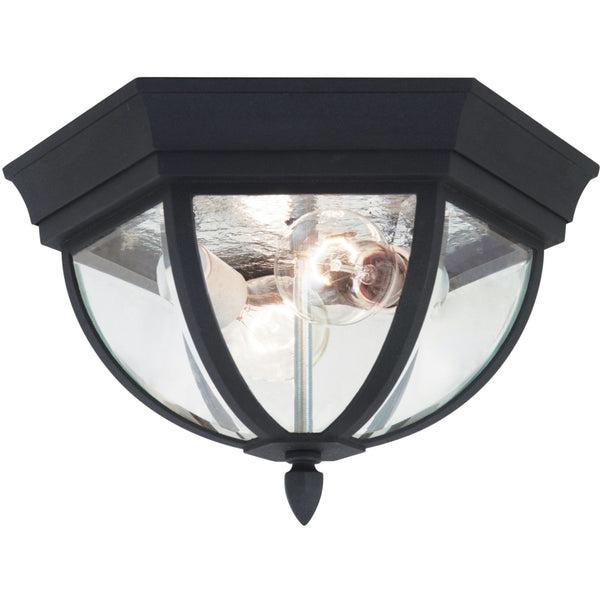 Wynfield Black Outdoor Flush Mount - Outdoor Flush Mounts