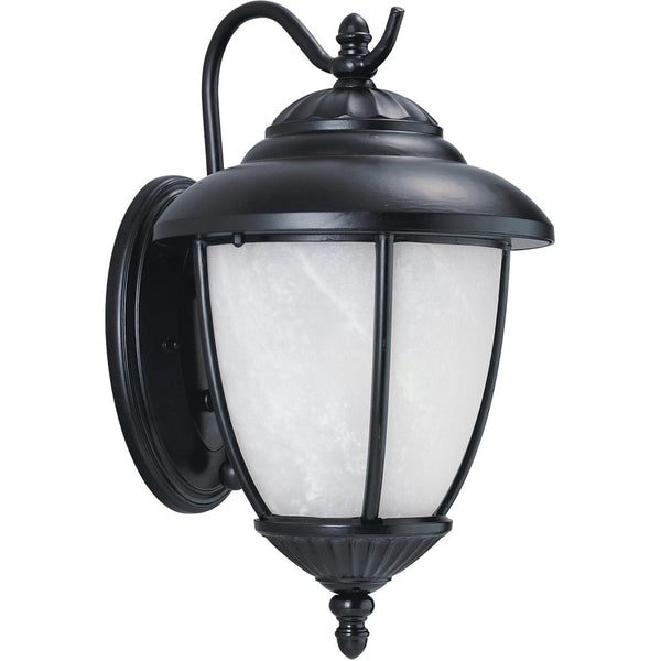 Yorktown Black LED Outdoor Wall Lantern - Outdoor Wall Sconce