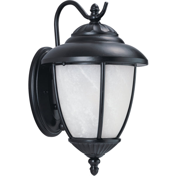Yorktown Black Outdoor Wall Lantern - Outdoor Wall Sconce