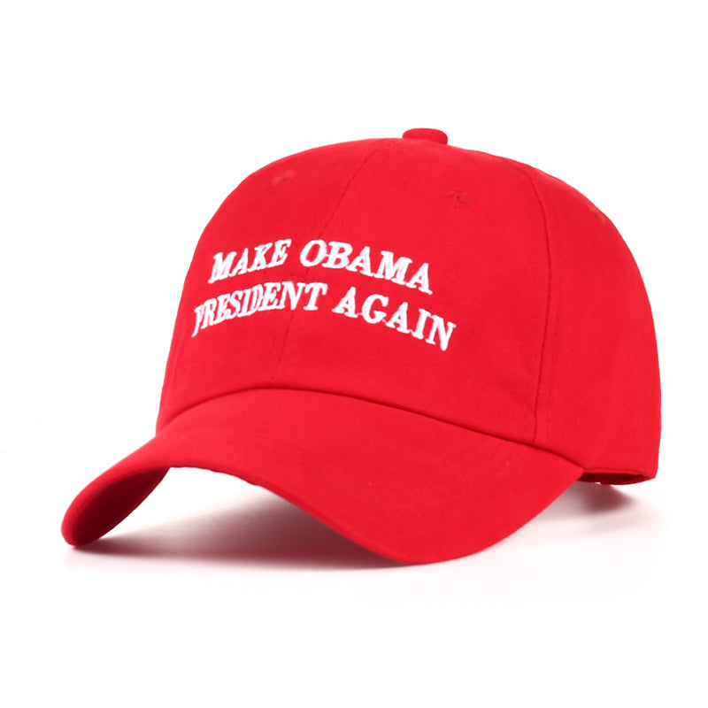 """MAKE OBAMA PRESIDENT AGAIN"" BASEBALL CAP"