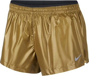 Women's Elevate Running Shorts (Gold)