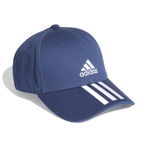 Adidas 3 Stripes Twill Cap (Navy Blue)