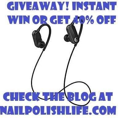 Bluetooth Headphones Instant Win or 40% Off