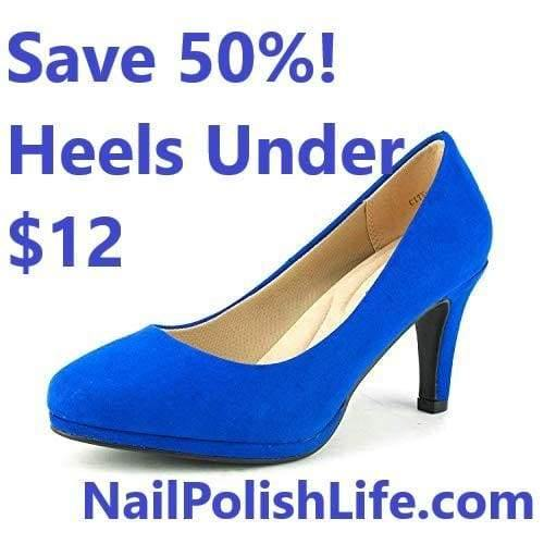 50% Off Shoes! Cute Pumps for Under $12