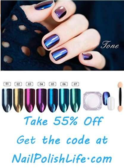 Take 55% Off Holographic Nail Powder With Our Code!
