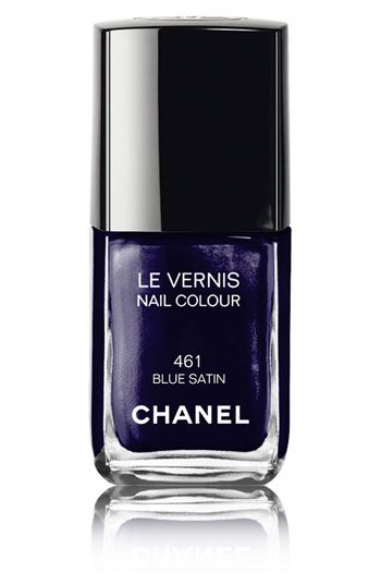 Chanel Le Vernis Nail Colour - 461 Blue Satin