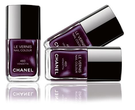 Chanel Le Vernis Nail Colour - 483 Vendetta