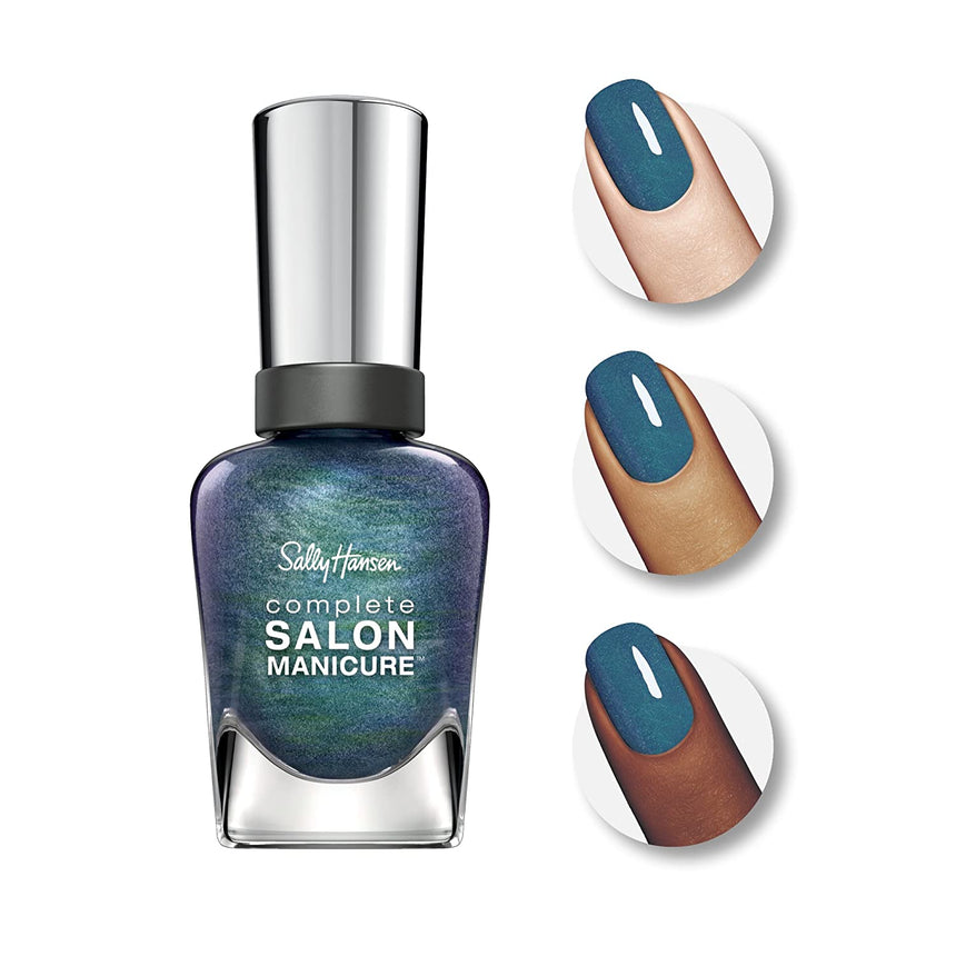 Sally Hansen Complete Salon Manicure - 580/581 Black and Blue