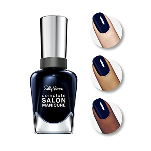 Sally Hansen Complete Salon Manicure - 016 To the Moon and Black