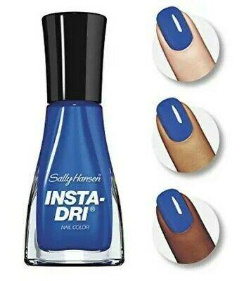 Sally Hansen Insta-dri - 376 In Prompt Blue (435) - Nail Polish Life