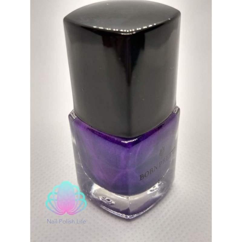 Born Pretty Stamping Polish - #31 (Dark Purple)-Nail Polish-Nail Polish Life