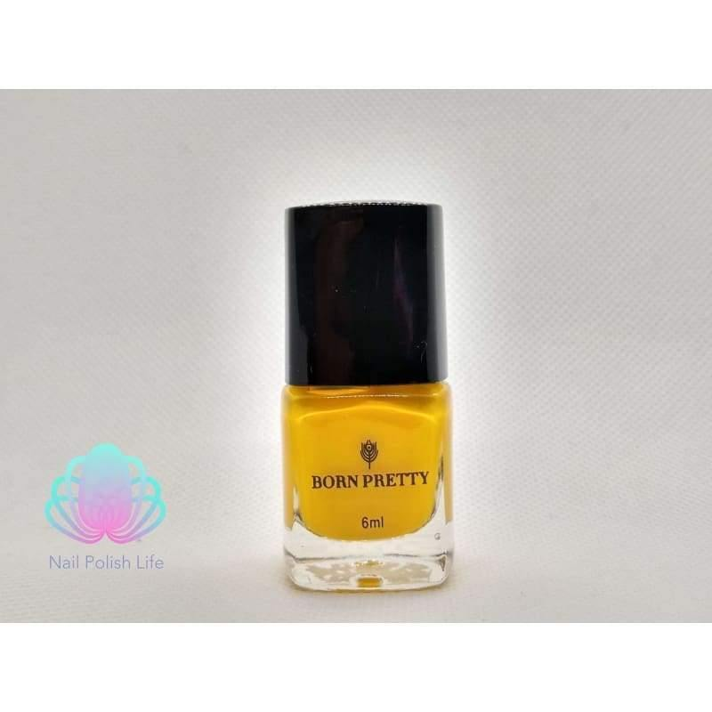 Born Pretty Stamping Polish - #6 (Yellow)-Nail Polish-Nail Polish Life