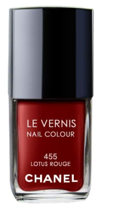 Chanel Le Vernis Nail Colour - 455 Lotus Rouge - Nail Polish