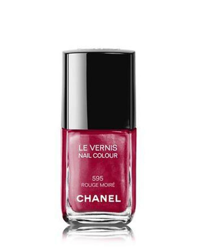 Chanel Le Vernis Nail Colour - 595 Rouge Moire - Nail Polish