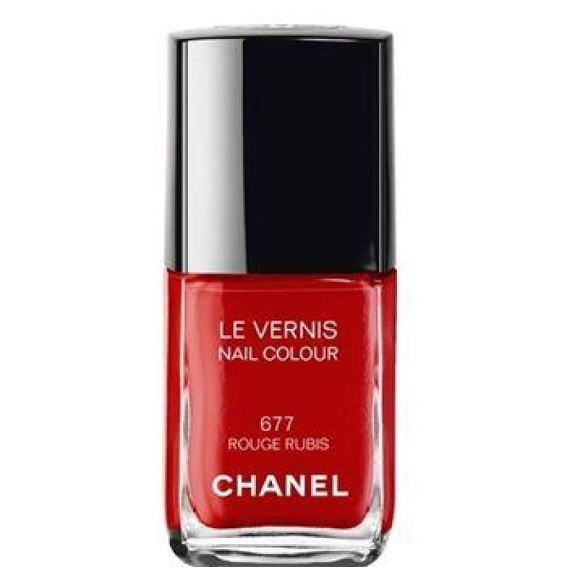 Chanel Le Vernis Nail Colour - 677 Rouge Rubis - Nail Polish