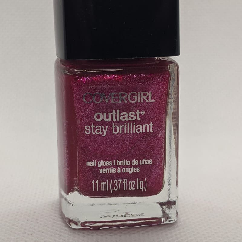 CoverGirl Outlast Stay Brilliant - Bombshell-Nail Polish-Nail Polish Life