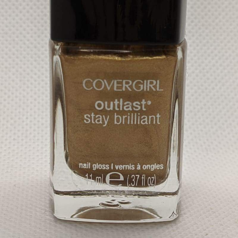CoverGirl Outlast Stay Brilliant - Camel-Nail Polish-Nail Polish Life