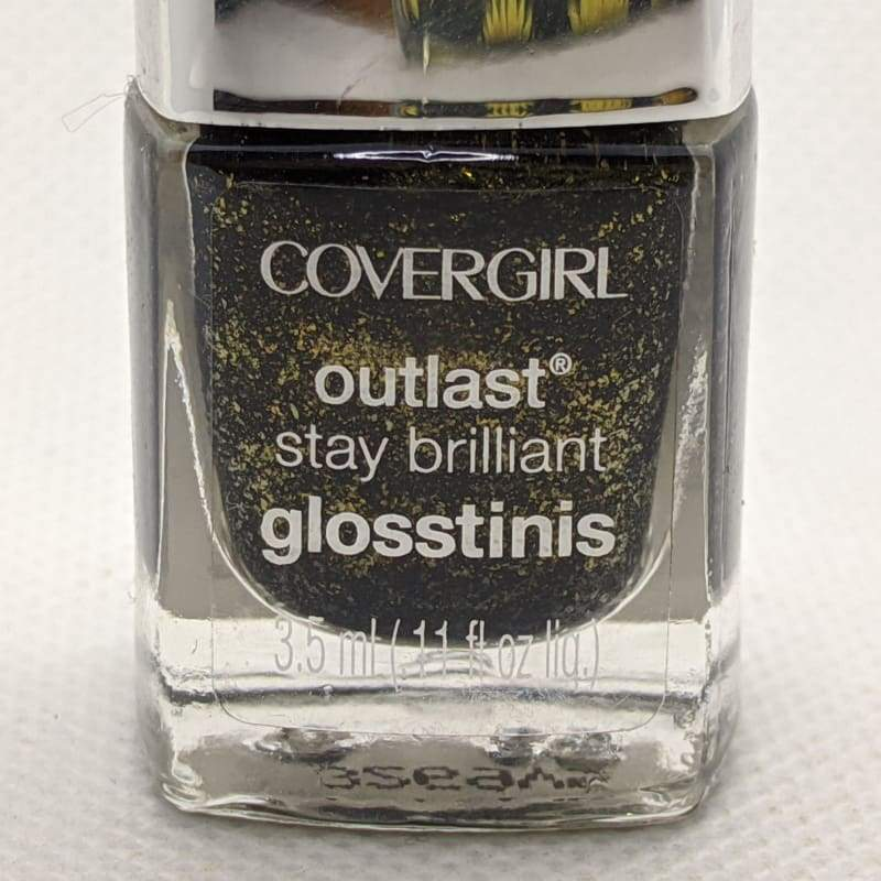 Covergirl Outlast Stay Brilliant Glosstinis - Black Heat-Nail Polish-Nail Polish Life