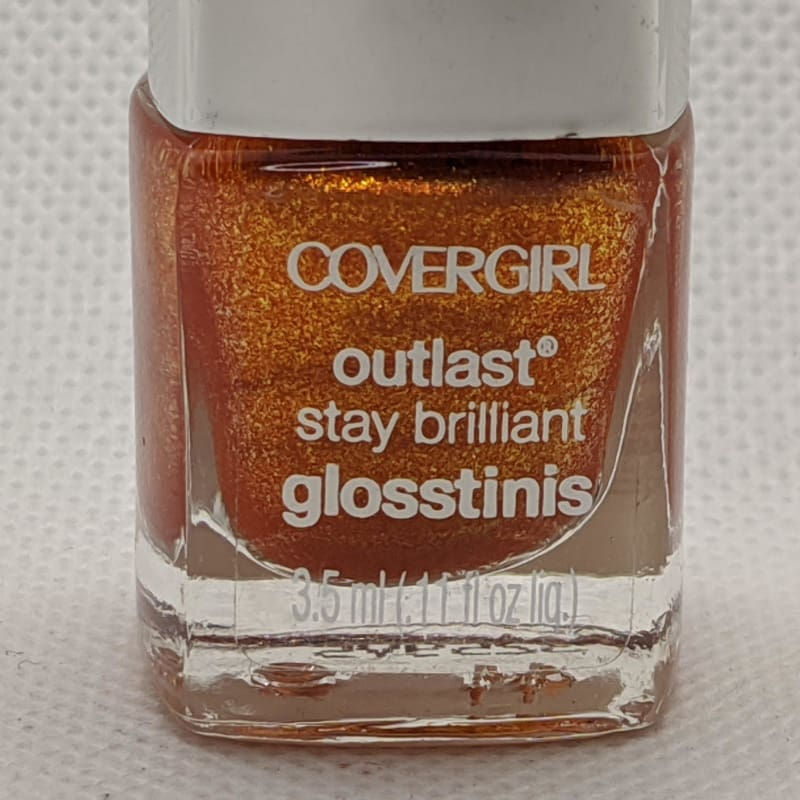 Covergirl Outlast Stay Brilliant Glosstinis - Flamed Out-Nail Polish-Nail Polish Life