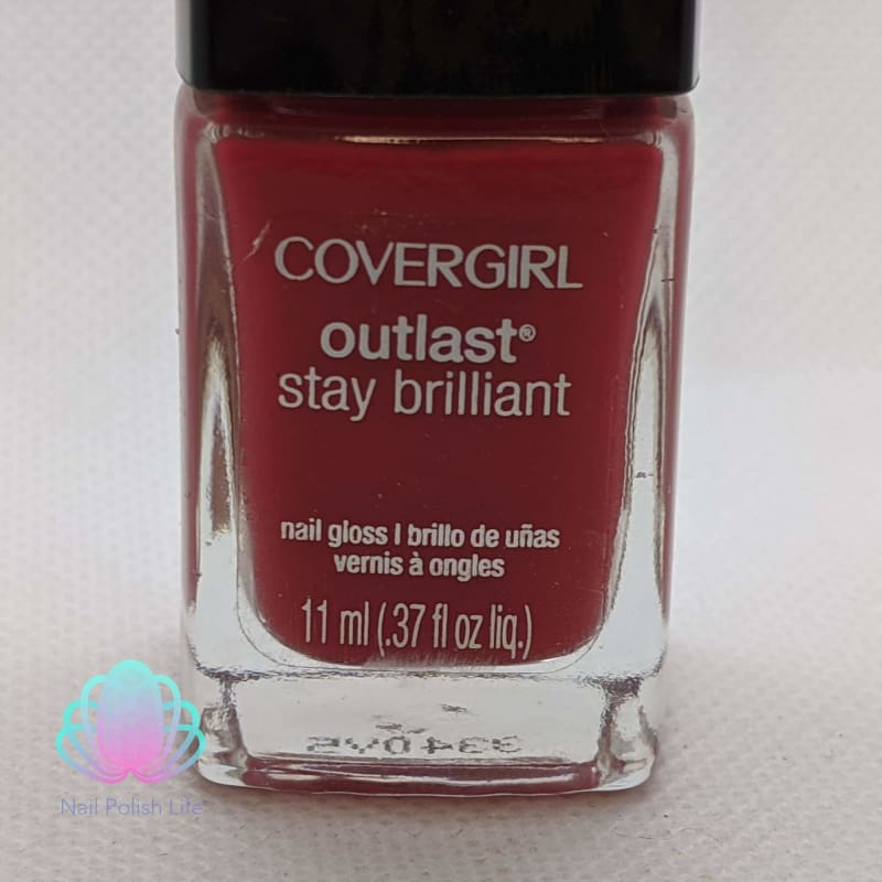 CoverGirl Outlast Stay Brilliant - Lingering Spice-Nail Polish-Nail Polish Life