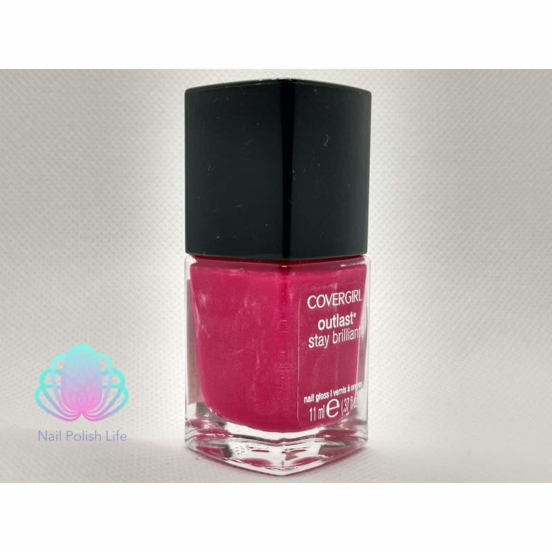CoverGirl Outlast Stay Brilliant - Rose Delight-Nail Polish-Nail Polish Life