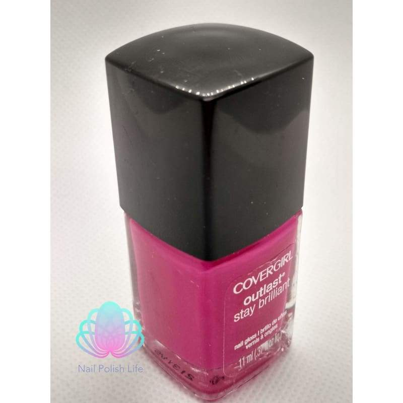 CoverGirl Outlast Stay Brilliant - Tickled Pink-Nail Polish-Nail Polish Life