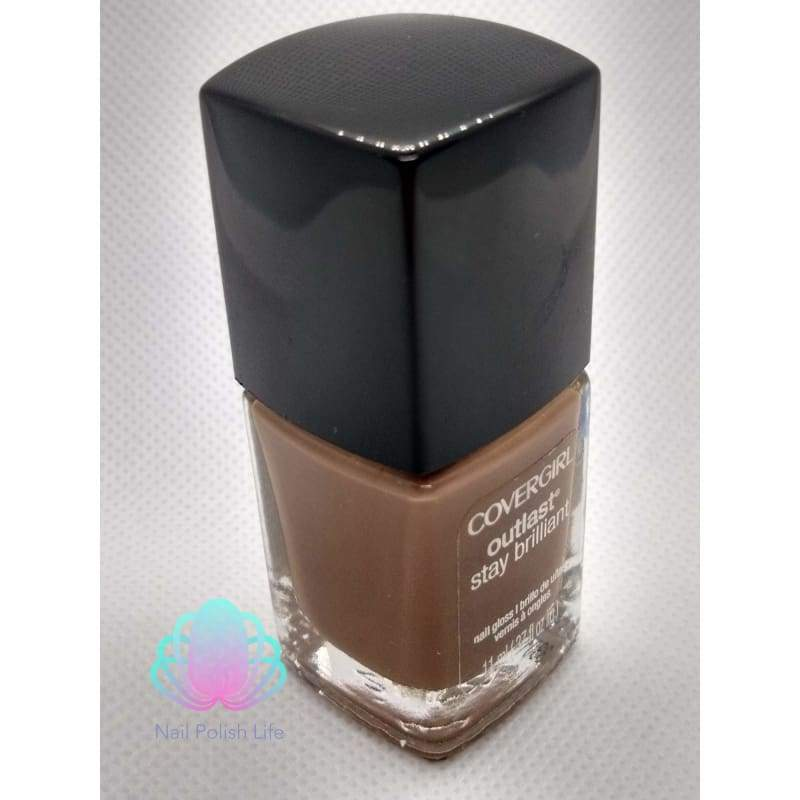 CoverGirl Outlast Stay Brilliant - Toasted Almonds-Nail Polish-Nail Polish Life