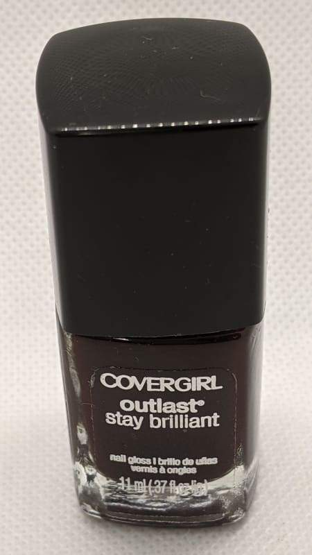 CoverGirl Outlast Stay Brilliant - Wine Stain-Nail Polish-Nail Polish Life