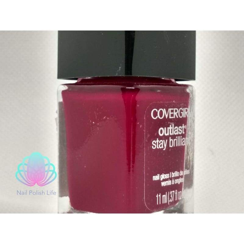 CoverGirl Outlast Stay Brilliant - Wine to Five-Nail Polish-Nail Polish Life