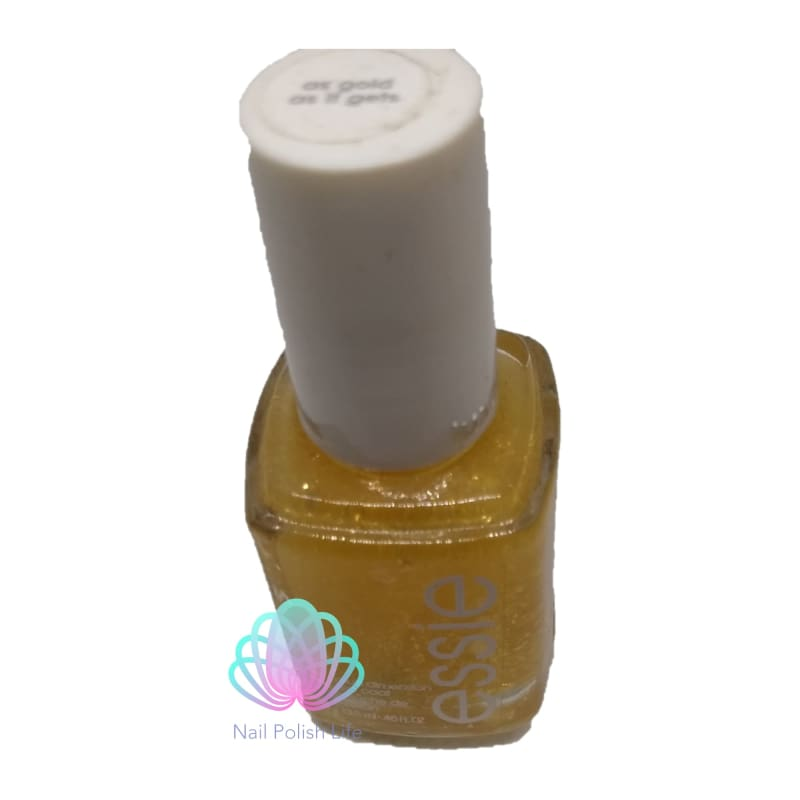 Essie Lux Effects Glitter Top Coat - As Gold As It Gets-Nail Polish-Nail Polish Life