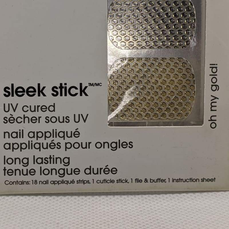 Essie Sleek Stick - 030 Oh My Gold! - Nail Applique