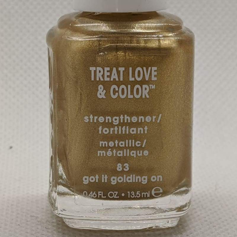 Essie Treat, Love & Color - 83 Got It Golding On-Nail Polish-Nail Polish Life