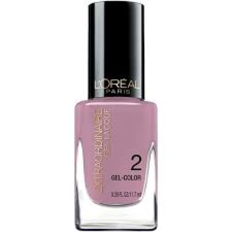 L'Oreal Extraordinaire Gel Lacque - 702 Miss Luster-ess - Nail Polish
