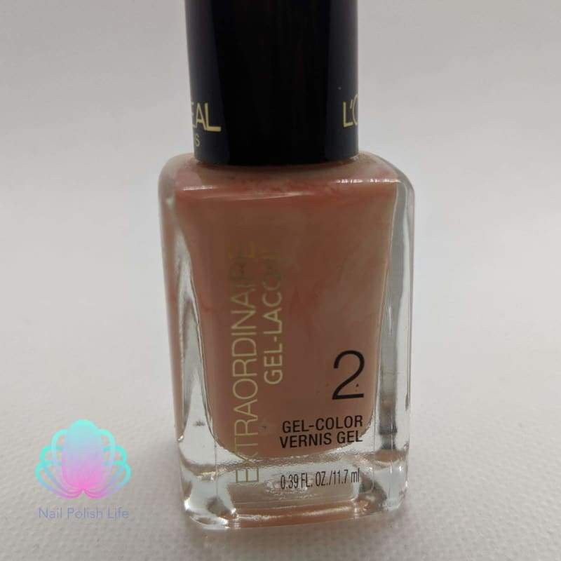 L'Oreal Extraordinaire Gel Lacque - 715 In With The Nude - Nail Polish