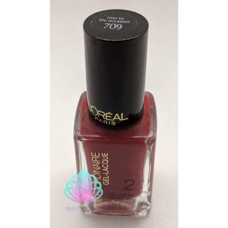 L'Oreal Gel Color - 709 Rose to the Occasion-Nail Polish-Nail Polish Life