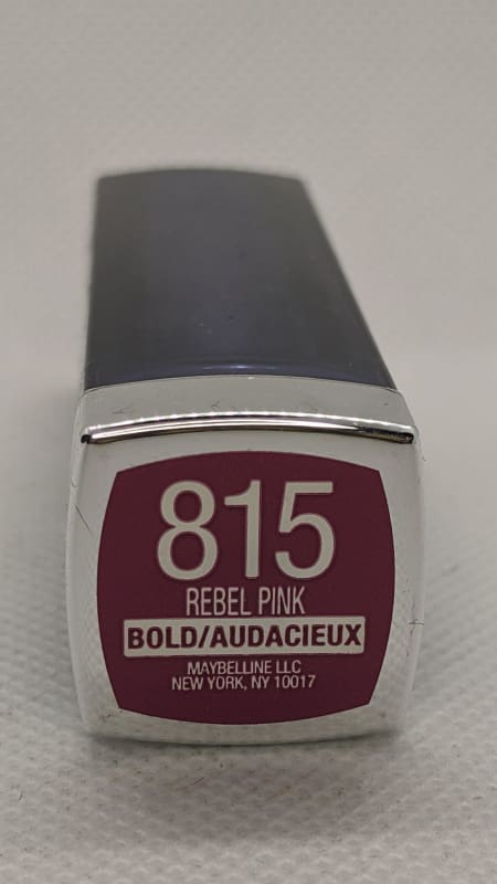 Maybelline Color Sensational Lipstick - 815 Rebel Pink-Lip-Nail Polish Life