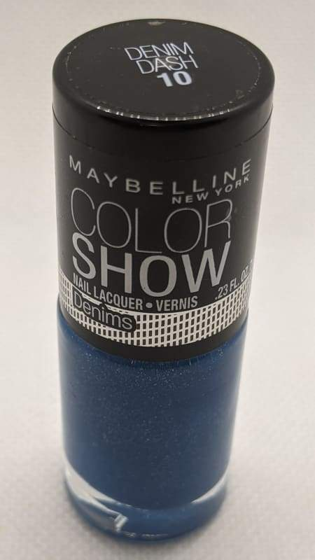 Maybelline Color Show Nail Lacquer - 10 Denim Dash-Nail Polish-Nail Polish Life