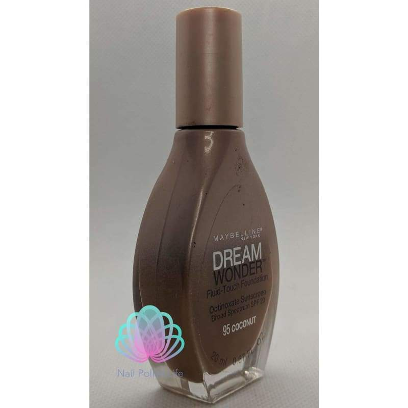 Maybelline Dream Wonder Fluid-Touch Foundation - 95 Coconut-Foundation-Nail Polish Life