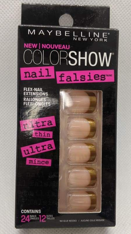 Maybelline Nail Falsies Flex Nail Extensions - 30 The French Revolution-Stick-on Nails-Nail Polish Life