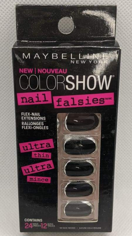 Maybelline Nail Falsies Flex Nail Extensions - 70 The Silver Lining-Stick-on Nails-Nail Polish Life