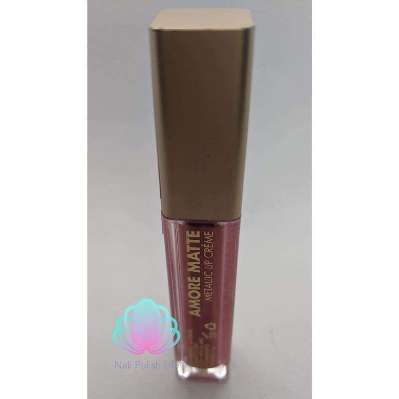 Milani Amore Matte Metallic Lip Creme - Cinematic Kiss-Lip-Nail Polish Life
