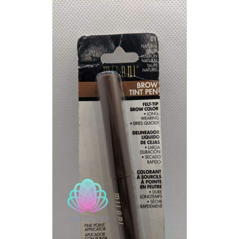 Milani Brow Tint Pen - 01 Natural Taupe-Eye-Nail Polish Life