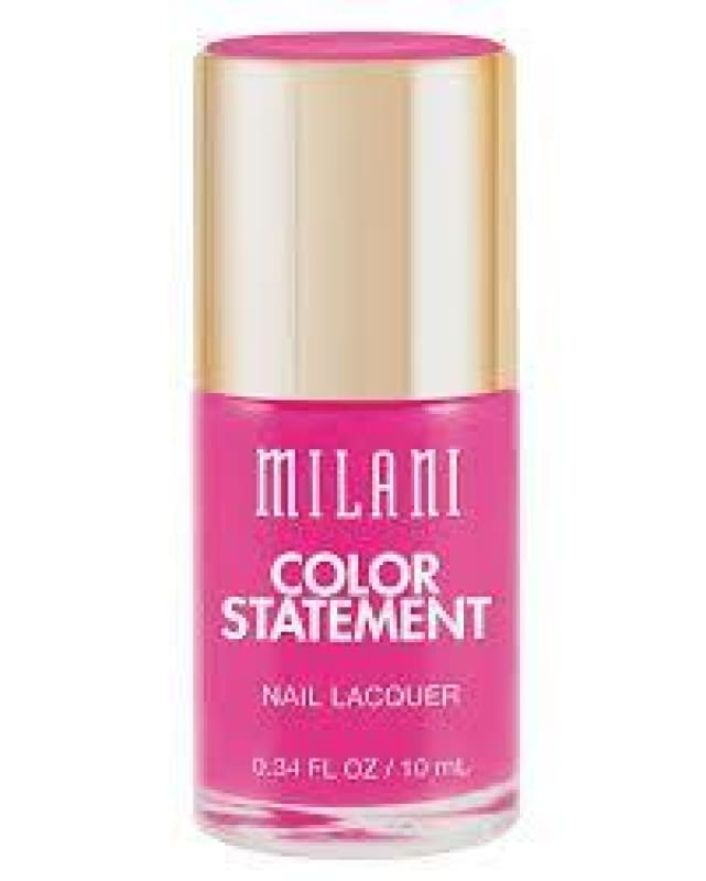 Milani Color Statement - 09 Hot Pink Rage - Nail Polish